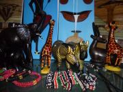 afrikanische Holzfiguren